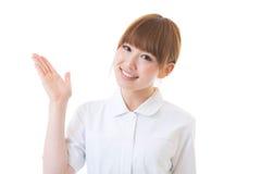Jonge verpleegster Stock Foto