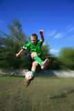 Jonge voetballer Royalty-vrije Stock Foto's