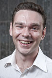 Jonge Volwassen Headshot Stock Foto's