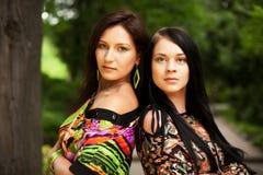 Jonge volwassenen Jonge vrouwen Royalty-vrije Stock Foto's