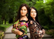 Jonge volwassenen Twee Jonge Vrouwen Royalty-vrije Stock Fotografie