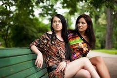Jonge volwassenen Twee Jonge Vrouwen Royalty-vrije Stock Foto