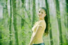 Jonge Vrouw Stock Afbeelding