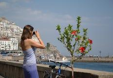 Jonge vrouw Stock Fotografie
