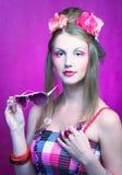 Jonge vrouw. Royalty-vrije Stock Afbeeldingen