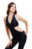 Jonge vrouw in bodysuit. royalty-vrije stock afbeelding