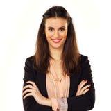 Jonge Vrouw in Controle Royalty-vrije Stock Fotografie