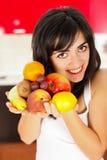 Het gezonde Voedsel is het Geheim royalty-vrije stock afbeeldingen