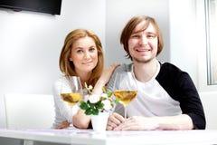 Jonge vrouw en haar echtgenoot Royalty-vrije Stock Afbeelding