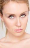 Jonge vrouw met mooie ogen Royalty-vrije Stock Foto