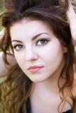 Jonge vrouw openlucht Royalty-vrije Stock Foto