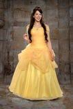Jonge Vrouw in Prinses Costume royalty-vrije stock fotografie