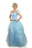 Jonge Vrouw in Prinses Costume Stock Afbeeldingen