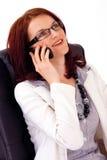 Jonge vrouwelijke bedrijfsleider Stock Afbeeldingen