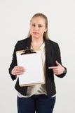 Jonge vrouwelijke beroeps Royalty-vrije Stock Foto's