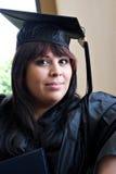 Jonge Vrouwelijke Gediplomeerde Stock Foto
