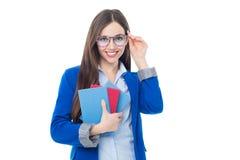 Jonge vrouwelijke leraar Stock Foto's