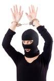Jonge vrouwelijke misdadiger Stock Fotografie