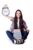 Jonge vrouwelijke student Royalty-vrije Stock Afbeelding
