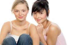 Jonge vrouwen royalty-vrije stock afbeeldingen