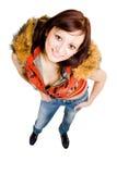 Jonge vrouwen hoogste mening Stock Fotografie