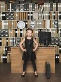 Jonge Werkgever Stock Foto