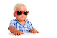 Jonge werkgever. Stock Foto's