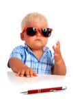 Jonge werkgever. Stock Afbeeldingen