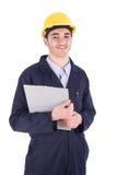 Jonge werknemer stock afbeeldingen