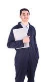 Jonge werknemer royalty-vrije stock afbeeldingen