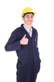 Jonge werknemer royalty-vrije stock afbeelding
