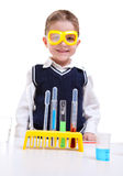 Jonge wetenschapper Stock Foto