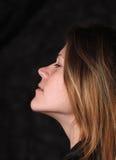 Jonge witte vrouw royalty-vrije stock fotografie