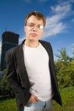 Jonge zakenman stock foto's