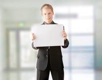 Jonge zakenman. royalty-vrije stock afbeelding