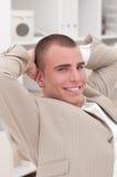 Jonge zakenman Royalty-vrije Stock Foto's