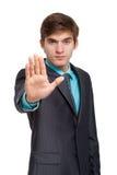 Jonge zakenman Royalty-vrije Stock Afbeelding