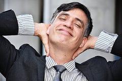 Jonge Zakenman And Confidence Stock Fotografie