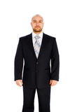 Jonge zakenman op witte achtergrond Stock Afbeeldingen