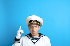 Jonge zeeman stock afbeelding