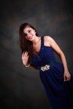 Jonge zigeunertaalvrouw Royalty-vrije Stock Foto