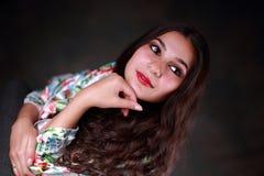 Jonge zigeunertaalvrouw Stock Afbeeldingen