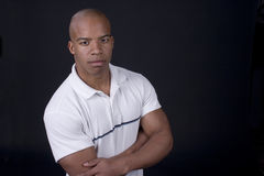Jonge zwarte mens Royalty-vrije Stock Foto's