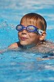 Jonge zwemmer Stock Afbeelding