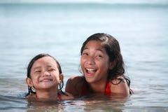Jonge zwemmers royalty-vrije stock foto