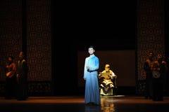 Jongelui de vonk-eerste handeling van de gebeurtenissen van dans drama-Shawan van het verleden Stock Fotografie