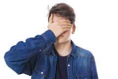 Jongelui of tiener stock foto