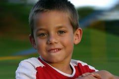 Jongen 1 van de speelplaats royalty-vrije stock afbeeldingen