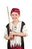 Jongen 3 van de piraat Stock Foto's