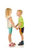 Jongen en meisje Royalty-vrije Stock Foto's